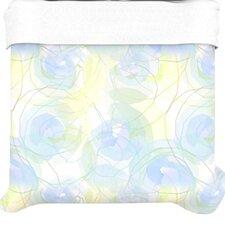 """""""Blue Paper Flower"""" Woven Comforter Duvet Cover"""
