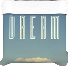 """""""Dream Print"""" Woven Comforter Duvet Cover"""