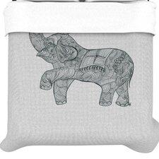 """""""Elephant"""" Woven Comforter Duvet Cover"""