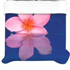 """""""Plumeria"""" Woven Comforter Duvet Cover"""