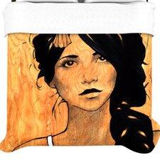 """""""Blue Bra"""" Woven Comforter Duvet Cover"""