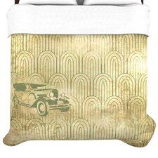 """Deco Car"" Woven Comforter Duvet Cover"
