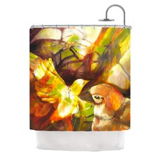 Memory Polyester Shower Curtain