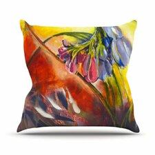 Progression by Kristin Humphrey Throw Pillow