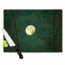 <strong>KESS InHouse</strong> Kiss Me Goodnight Cutting Board