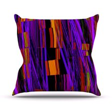 Threads Throw Pillow