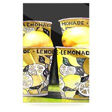 <strong>KESS InHouse</strong> Lemonade Floating Art Panel