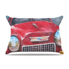 Vintage in Cuba Fleece Pillow Case