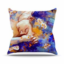 A Deeper Sleep Throw Pillow
