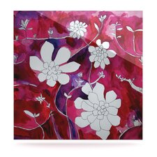 Succulent Dance II by Theresa Giolzetti Painting Print Plaque