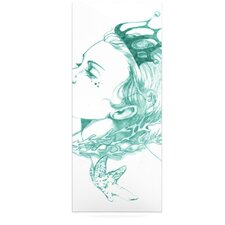 Queen of the Sea by Lydia Martin Graphic Art Plaque