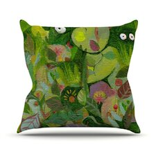 Jungle by Marianna Tankelevich Throw Pillow