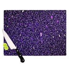 Purple Dots Cutting Board