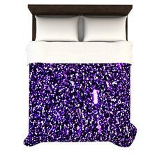 Purple Dots Duvet Cover