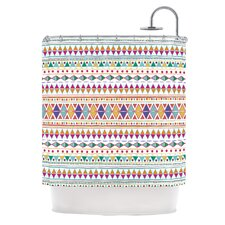 Native Fiesta Polyester Shower Curtain