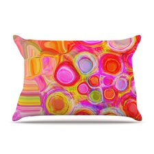 Spring Fleece Pillow Case