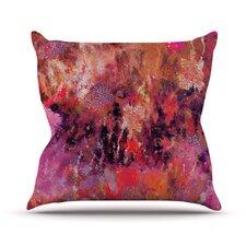 Indian City by Nikki Strange Throw Pillow
