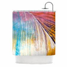 Sway Polyester Shower Curtain