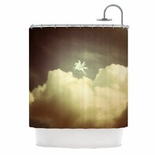 Pegasus Polyester Shower Curtain