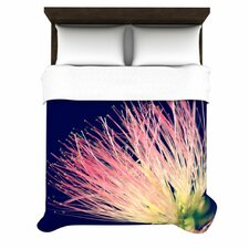 Oh Happy Day by Robin Dickinson Woven Duvet Cover