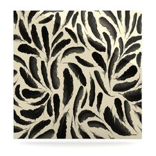 Feather Pattern Floating Art Panel