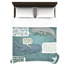 Whale Talk Duvet Cover Collection