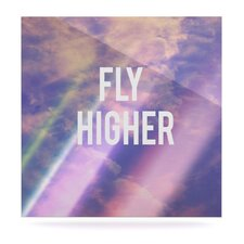 Fly Higher by Rachel Burbee Graphic Art Plaque