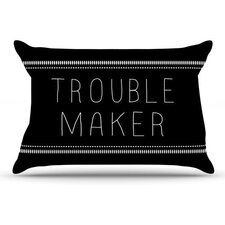 Trouble Maker Fleece Pillow Case