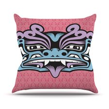 <strong>KESS InHouse</strong> Fu Dog Throw Pillow