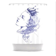 Queen of The Sea Polyester Shower Curtain