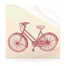 Bicycle by Sam Posnick Painting Print Plaque