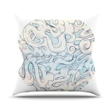 <strong>KESS InHouse</strong> Entangled Souls Throw Pillow