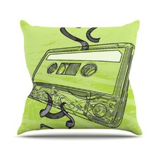 Mixtape by Sam Posnick Throw Pillow
