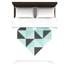 Geo Heart Duvet Cover Collection