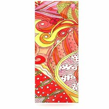 Swirls Floating Art Panel