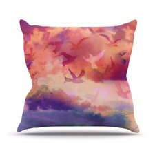 Souffle Sky Throw Pillow