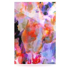 Painterly Blush Floating Art Panel