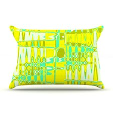 Changing Gears in Sunshine Fleece Pillow Case