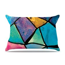 Stain Glass 2 Fleece Pillow Case