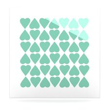Diamond Hearts by Project M Graphic Art Plaque