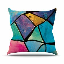 <strong>KESS InHouse</strong> Stain Glass 2 Throw Pillow