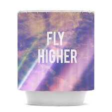 Fly Higher Polyester Shower Curtain