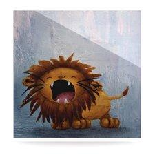 Dandy Lion by Rachel Kokko Painting Print Plaque