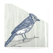 Jay by Sam Posnick Painting Print Plaque