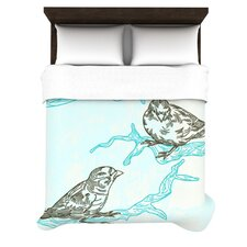 Birds in Trees Duvet Cover Collection
