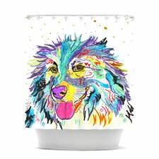 Daily Polyester Shower Curtain