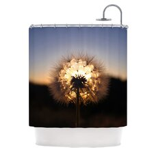 Glow Polyester Shower Curtain