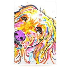 Koda by Rebecca Fischer Graphic Art Plaque