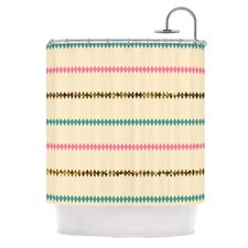 Diamonds Polyester Shower Curtain