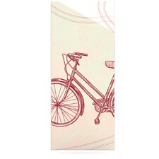Bicycle by Sam Posnick Graphic Art Plaque